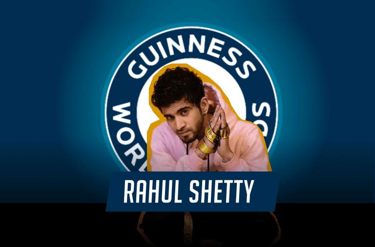 Indian choreographer Rahul Shetty